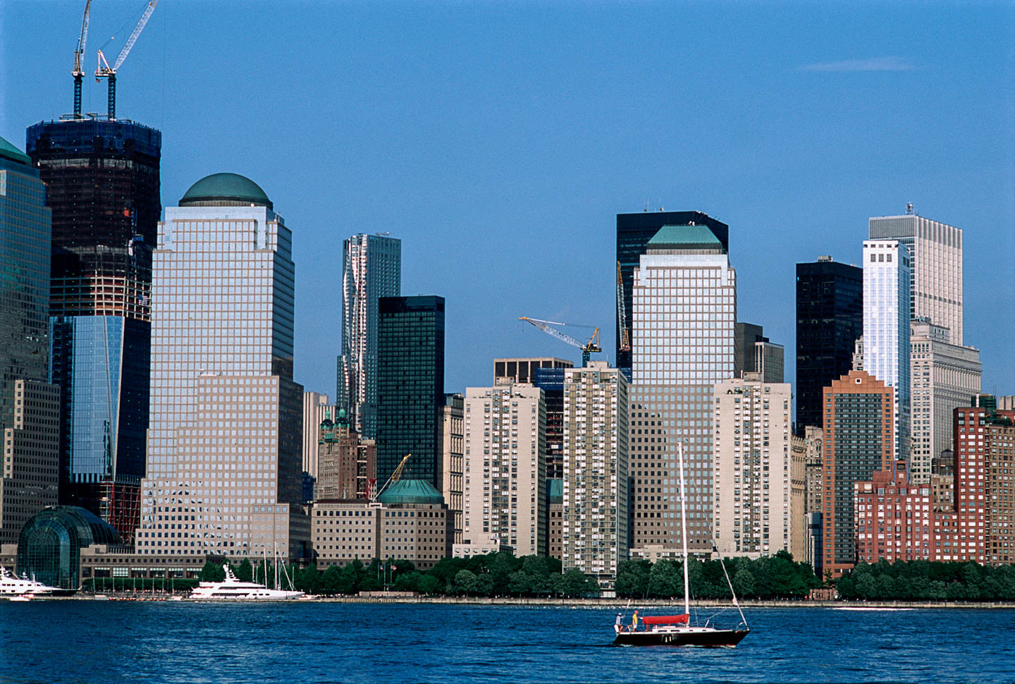 10-View from Exchange Place, Jersey City, New Jersey, 2011_