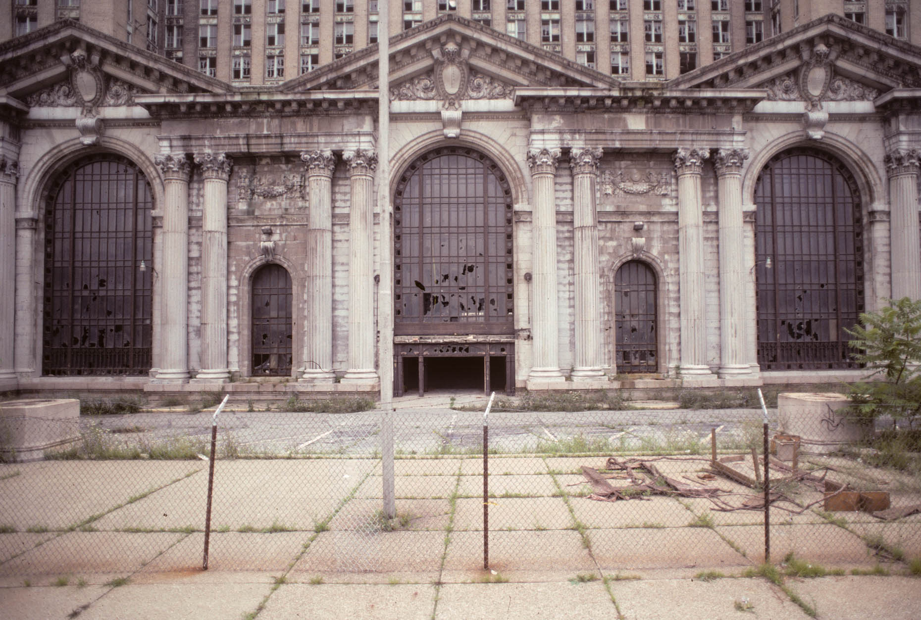 11_Former Michigan Central RR Station, Detroit, 1998_.jpg