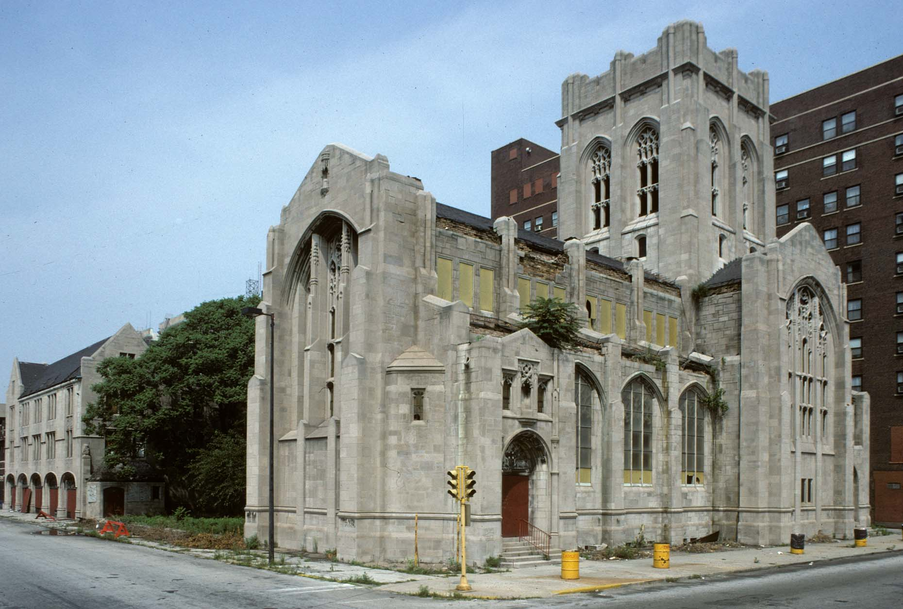 12_Former City Methodist Church, Washington St. at 6th Ave., Gary, 1993_.jpg