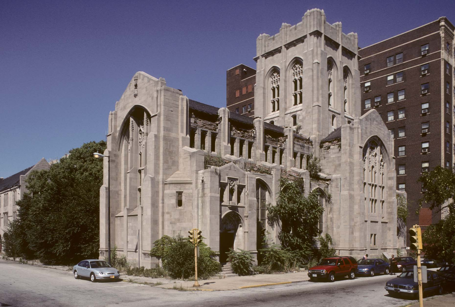 16_Former City Methodist Church, Washington at 6th Ave., Gary, 1999_.jpg