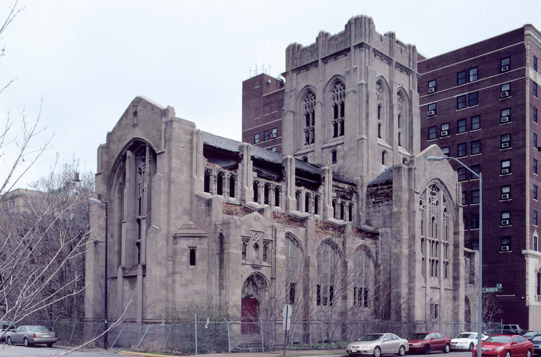 19_Former City Methodist Church, Washington  St. at 6th Ave., Gary, 2009_.jpg