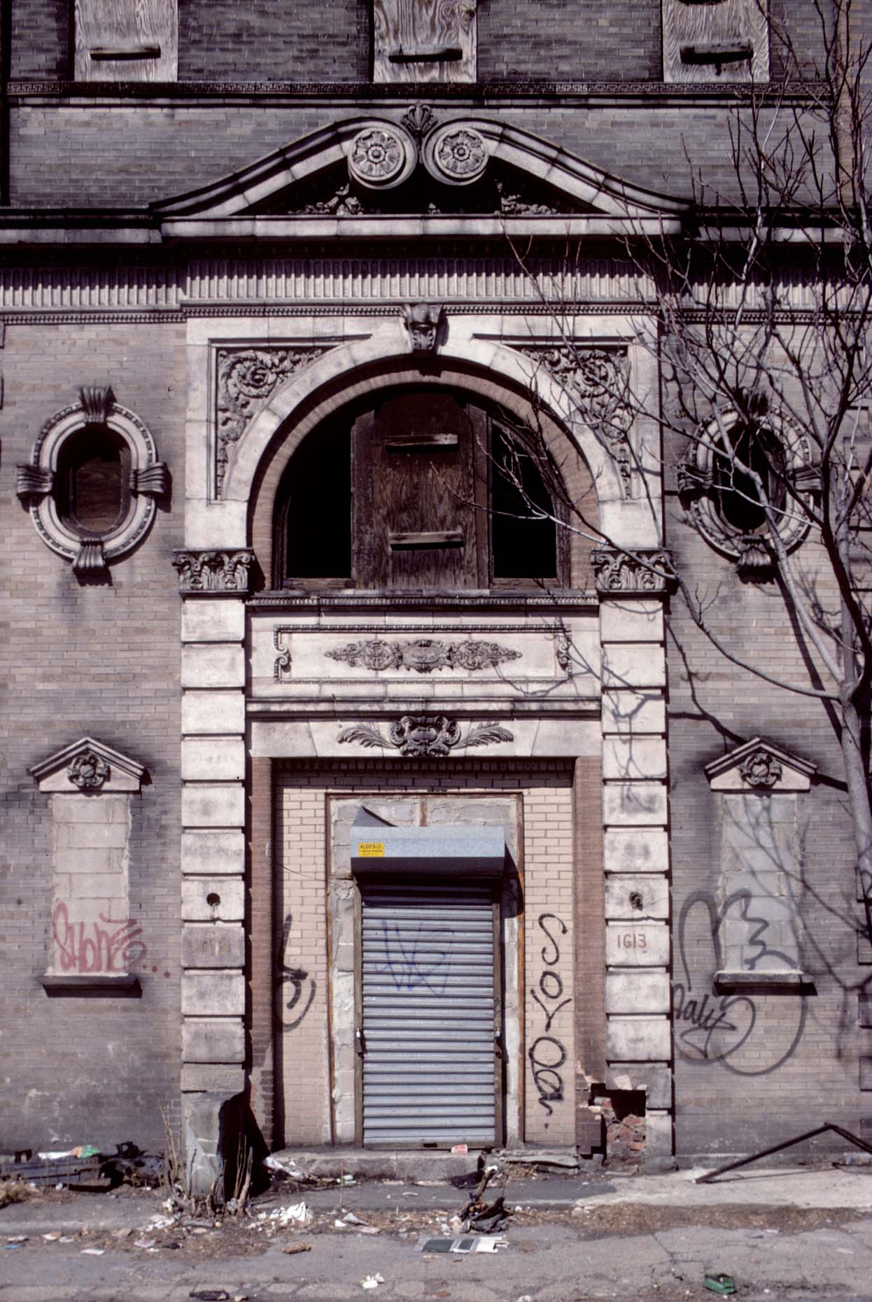 28_1613 East New York Ave-DUP2., Entrance, Brooklyn, 1994_.jpg