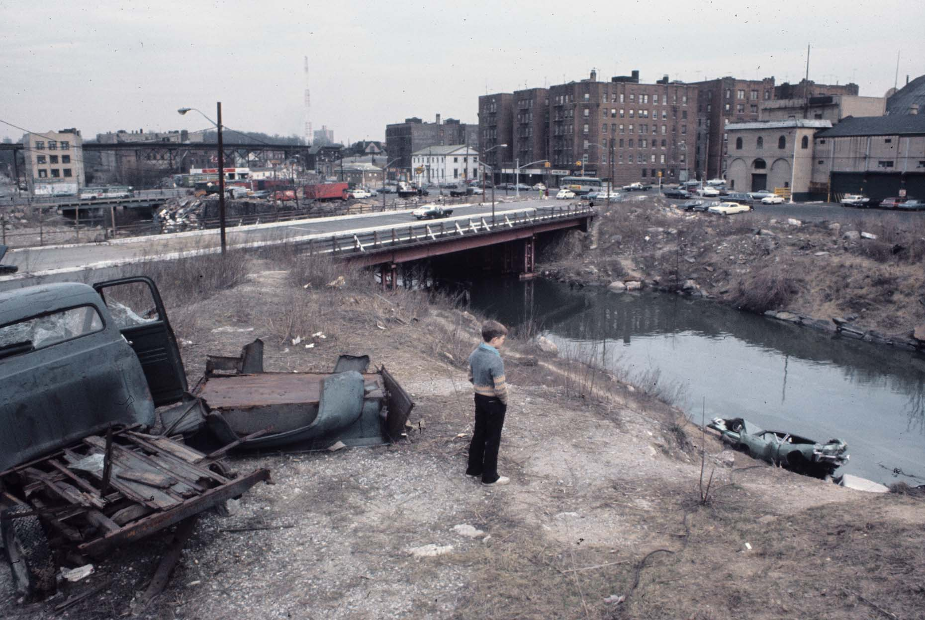 62_Bronx River  Bronx New York 1970_.jpg