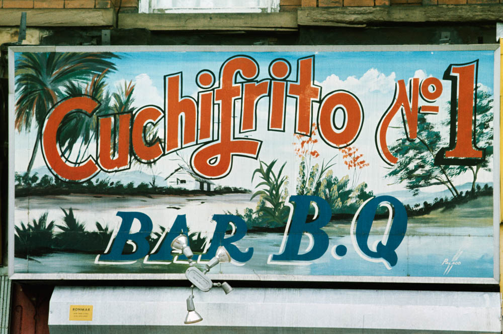 South Bronx sign by Polaco, 1970_